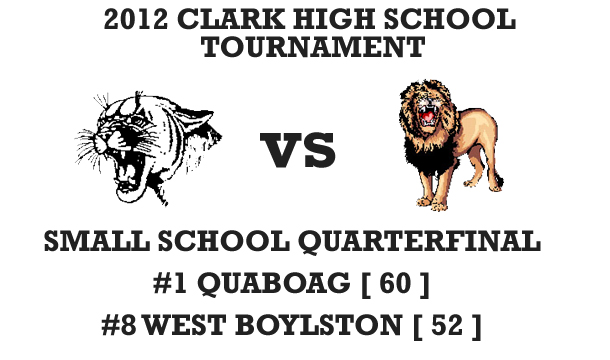 First Seed Quaboag Holds of Lions