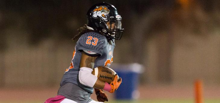 Harris Named SCIAC Football Player of the Week