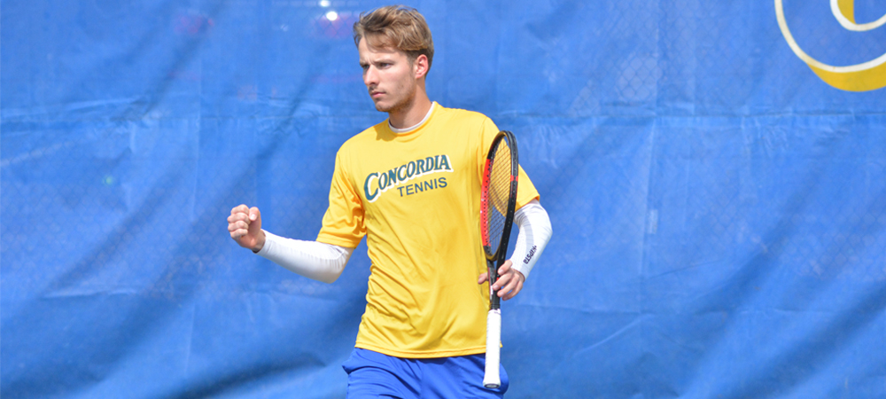 Chevalier Goes Undefeated At Top Positions For Men's Tennis In 7-0 Victory At USciences