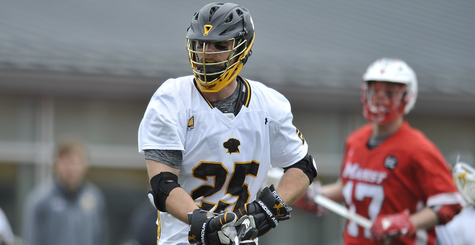 Men's Lacrosse Opens Three-Game Road Swing at Marist on Saturday