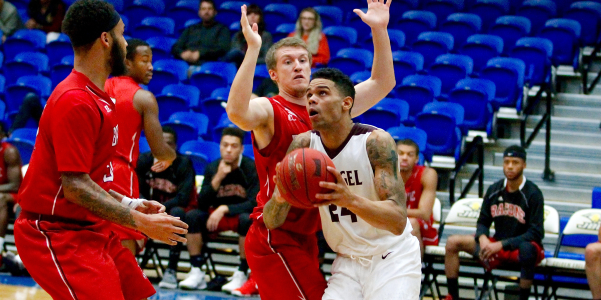 Evangel Men's Basketball Down Bacone Behind 17 Three-Pointers