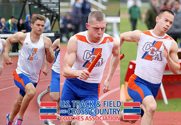 Penny, Taminger, Frystak Earn USTFCCCA All-Academic Individual Honors
