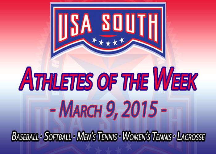 Huntingdon's Still and Gonzalez recognized with USA South honors