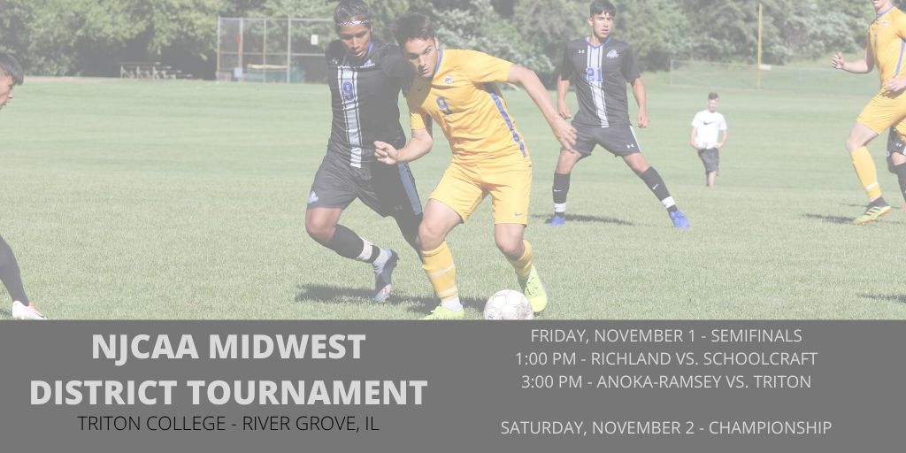 Men's Soccer Travels to Illinois for District Tournament Nov 1-2