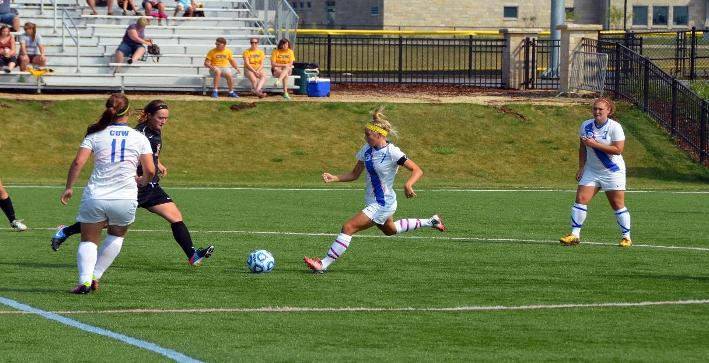 Pfannerstill nets two as Women's Soccer cruises to NACC win over Lakeland