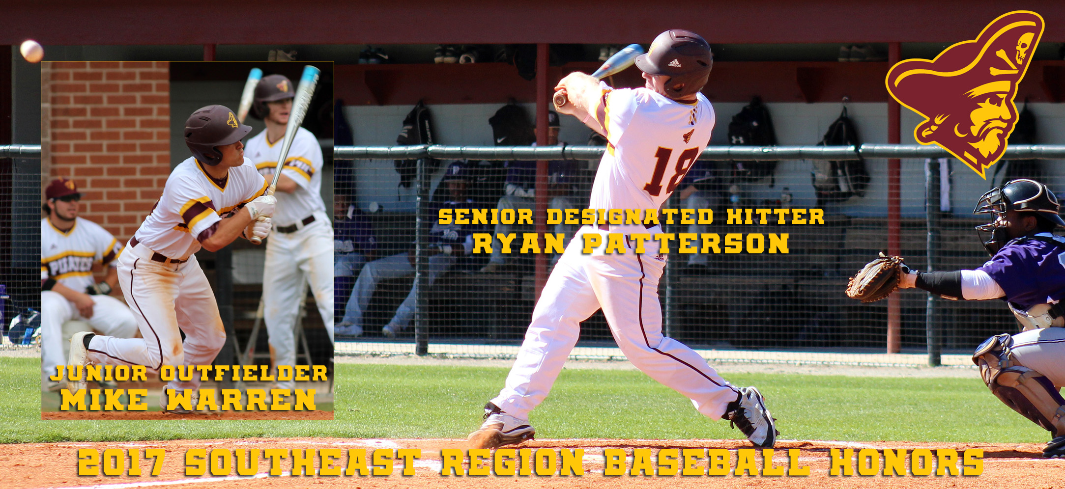 Armstrong State's Patterson, Warren Earn All-Region Baseball Honors