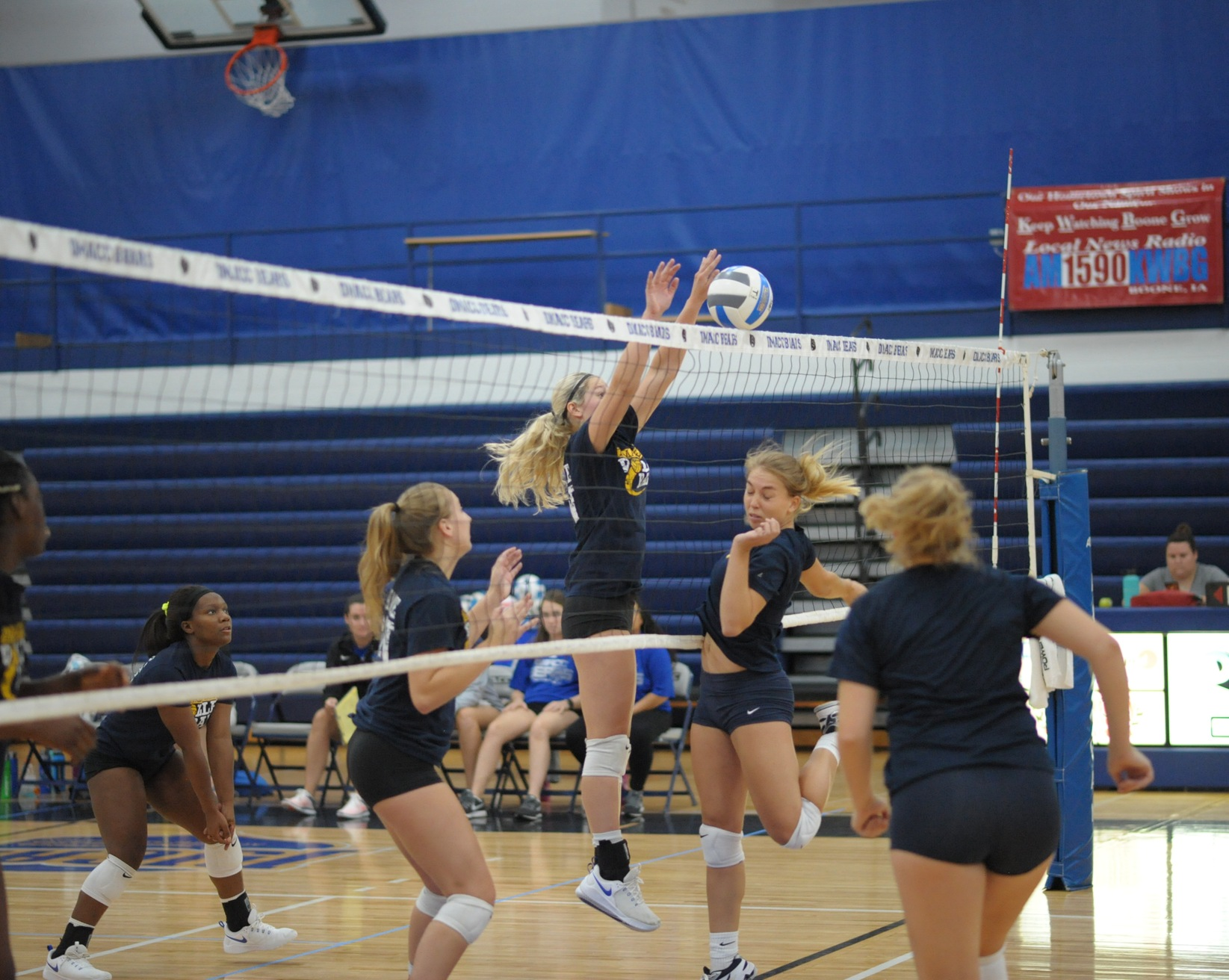 DMACC volleyball team drops matches against MCC-Longview and Neosho County