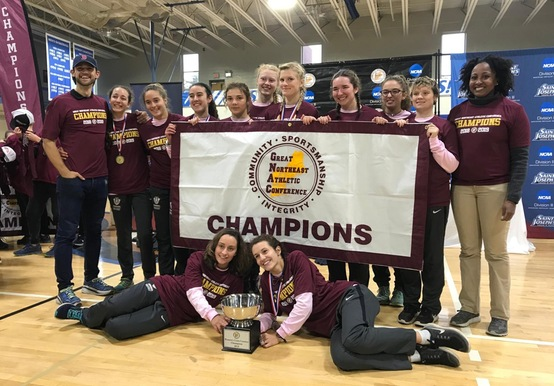 GNAC CHAMPIONS! WOMEN'S CROSS COUNTRY TAKES HOME 2018 GNAC CROWN