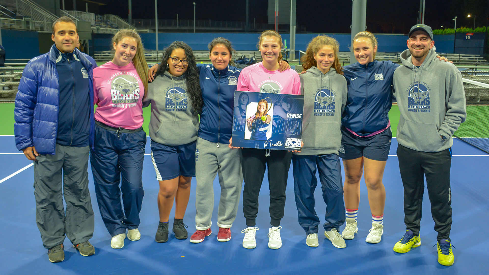 Women's Tennis Celebrates Trerotola's Record-Setting Career With Senior Night Match Against John Jay