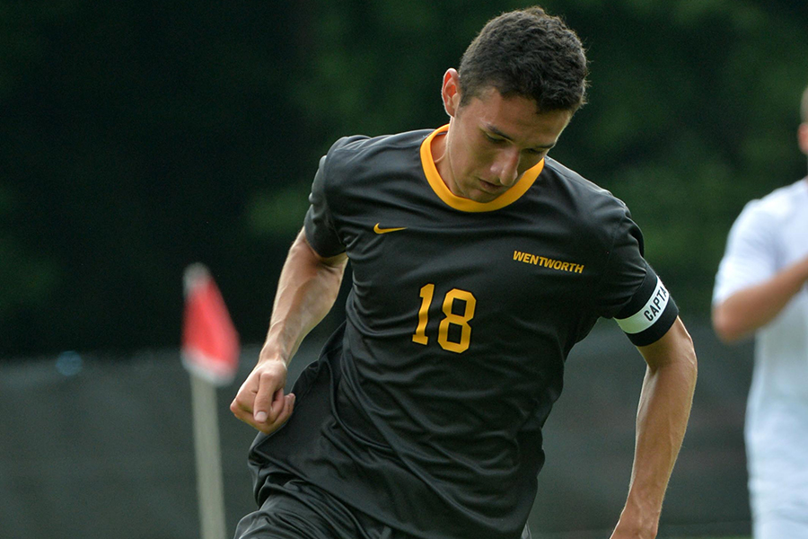 Morrison's Golden Goal Lifts Men's Soccer Past Roger Williams