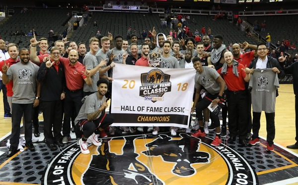 Texas Tech Captures 2018 Hall of Fame Classic Title