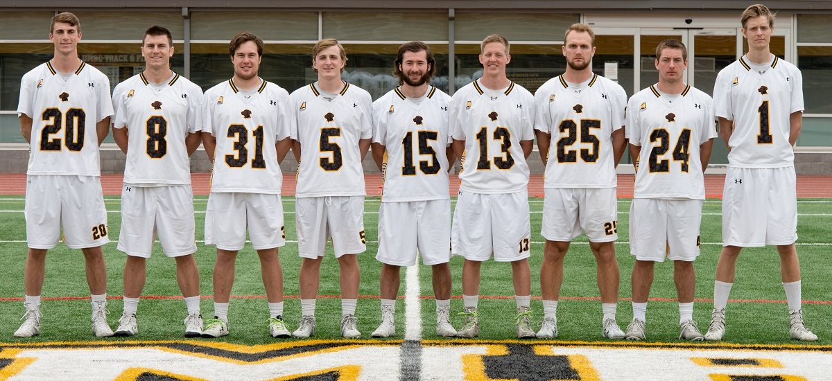 Men's Lacrosse To Honor Seniors, Battle Vermont for No. 2 Seed in Home Finale on Saturday
