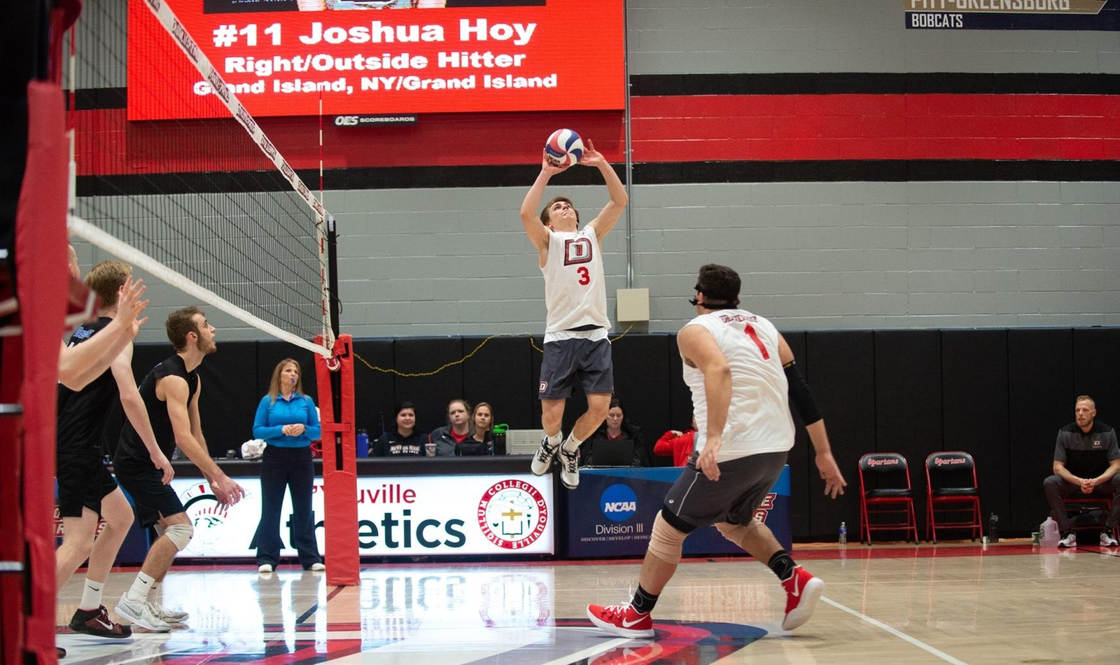 Men's Volleyball Drops Two Conference Matches