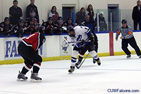 Falcon men's hockey falls to MSOE 6-1