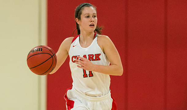 Sam O'Gara finished with 15 points, 11 assists and six steals in the Cougars' 72-54 win over Wellesley College.