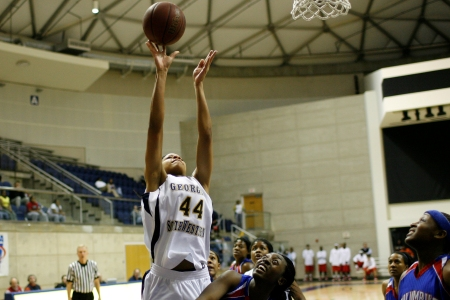 Lander women pull away from GSW