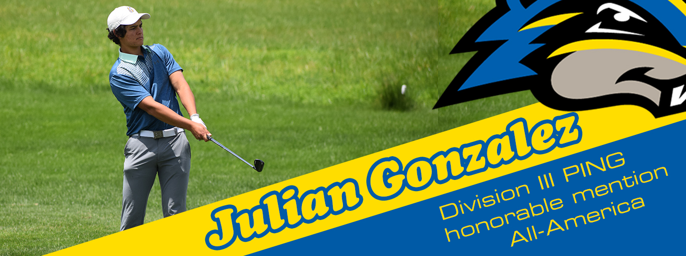 Goucher Men's Golfer Julian Gonzalez Earns NCAA Division III PING Honorable Mention All-America Status