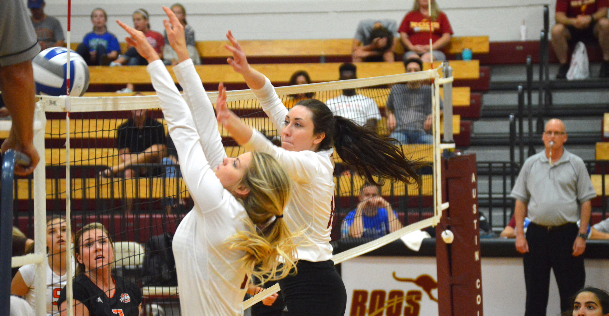 'Roo Volleyball Tops Concordia and Occidental