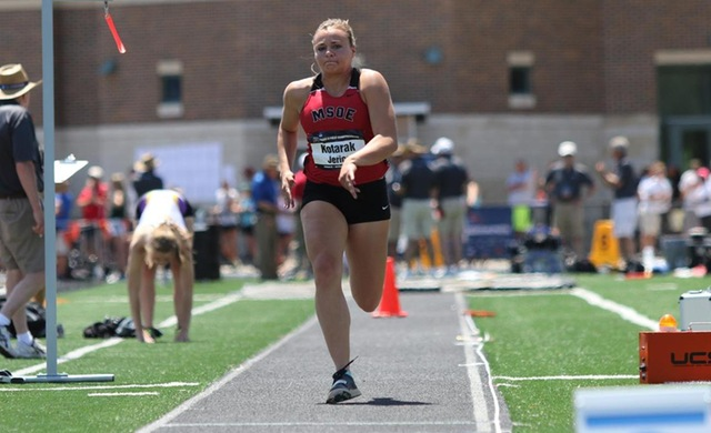 Kotarak Takes 12th in Long Jump at NCAA Championships