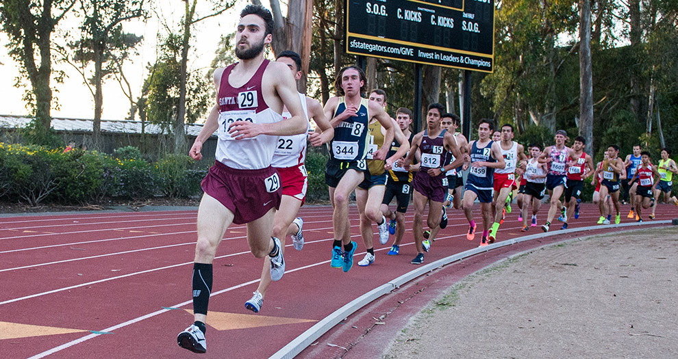 John O'Hagan makes his 3000m season debut Saturday alongside Will Burschinger, Andrew Melendez and Ben Williams.