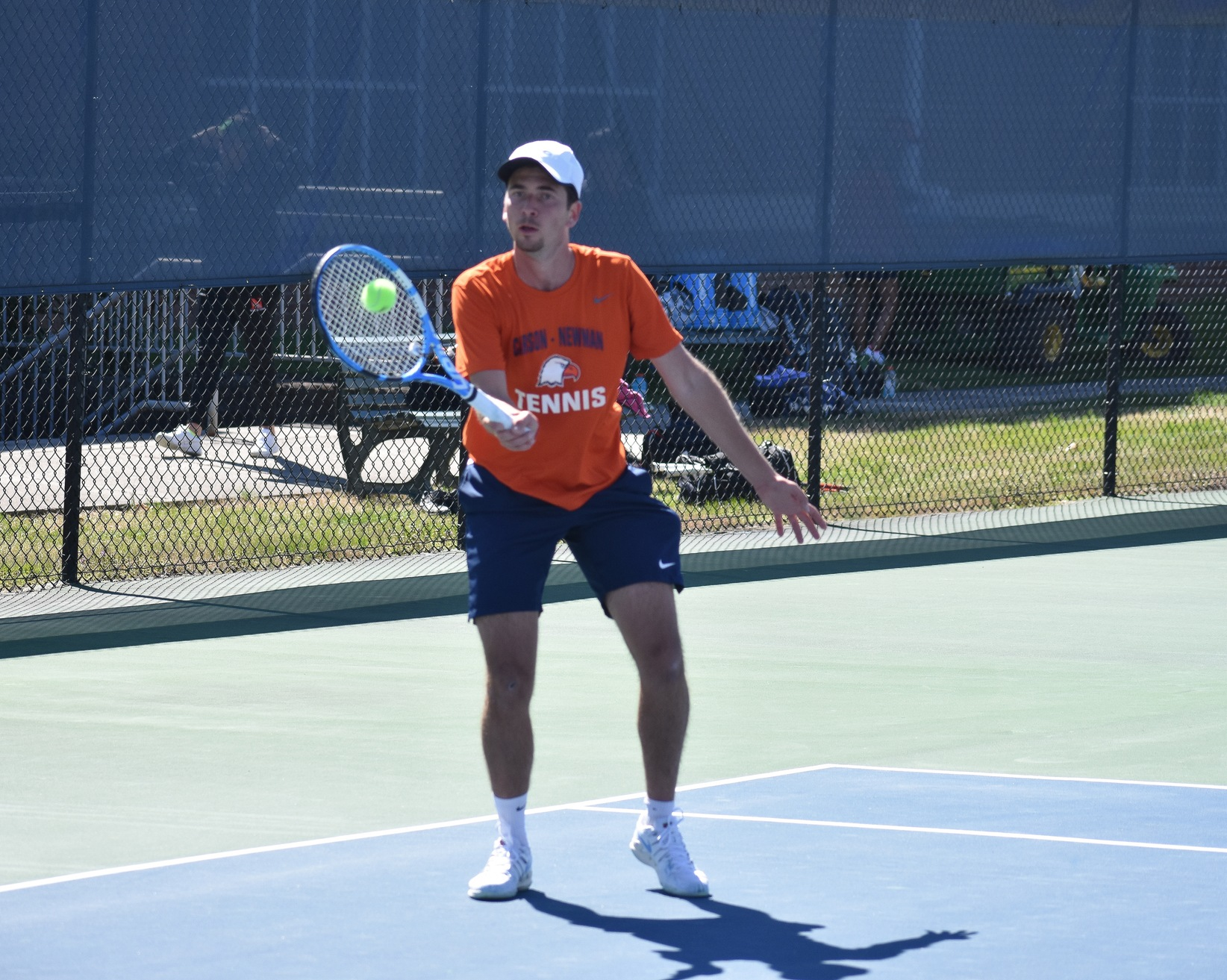 Eagles struggle in singles play against Anderson