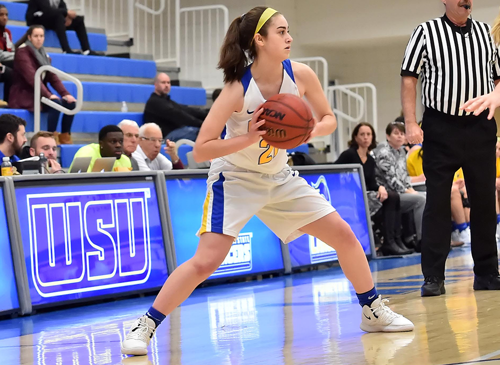 Women's Basketball Victorious Over Framingham State
