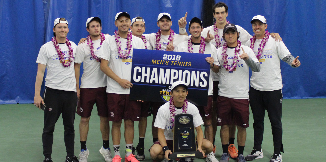 Trinity Wins Ninth Straight SCAC Men's Tennis Championship