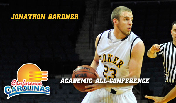 Coker's Gardner Named Academic All-Conference