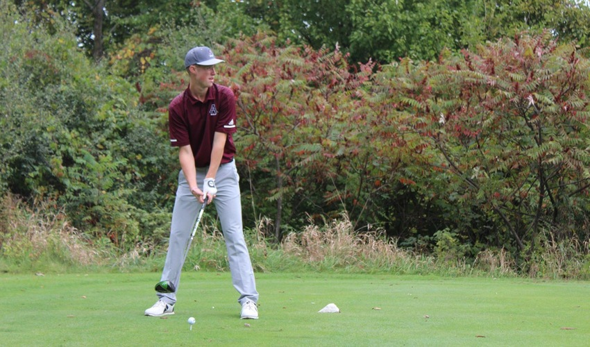 Men's Golf Finishes Season Seventh in the MIAA