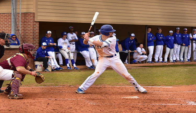 Mars Hill earns split with Coker on road