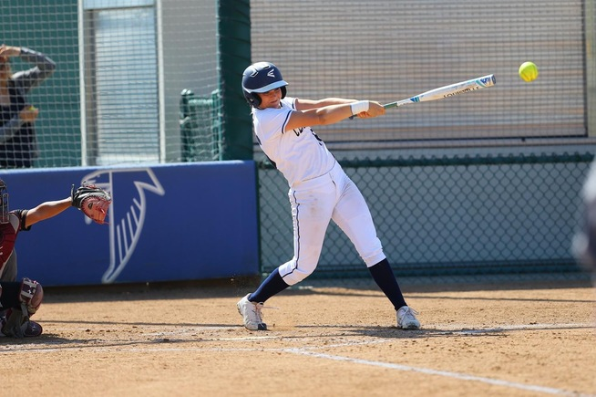File Photo: Brianna Spoolstra drove in six runs for the Falcons