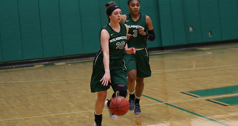Senior Ashley Andracki was the only WC in double figures with 11 points Saturday. (Wilmington file/John Swartzel)