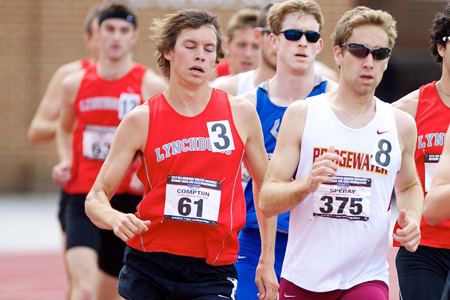 Speray Sets New PR At Swarthmore Last Chance