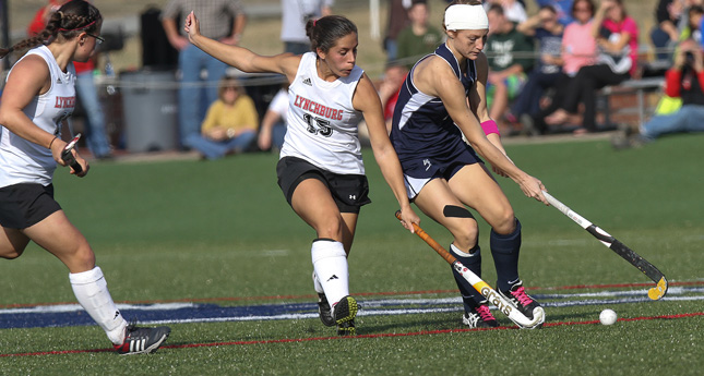 Field Hockey Claws Back But Eagle Offense Too Much
