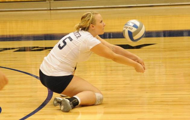 Coker Drops Four Set Match to Queens 3-1