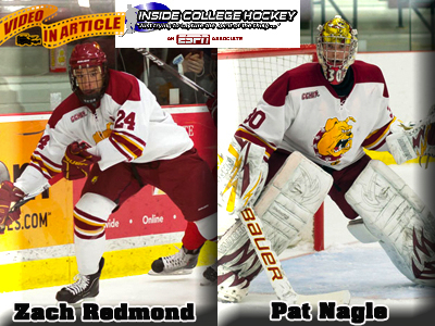 Ferris State Hockey Lands Two On INCH's First-Half All-CCHA Team