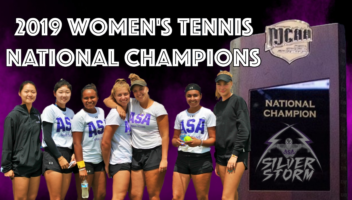 ASA Wins 2019 Women's Tennis National Championship