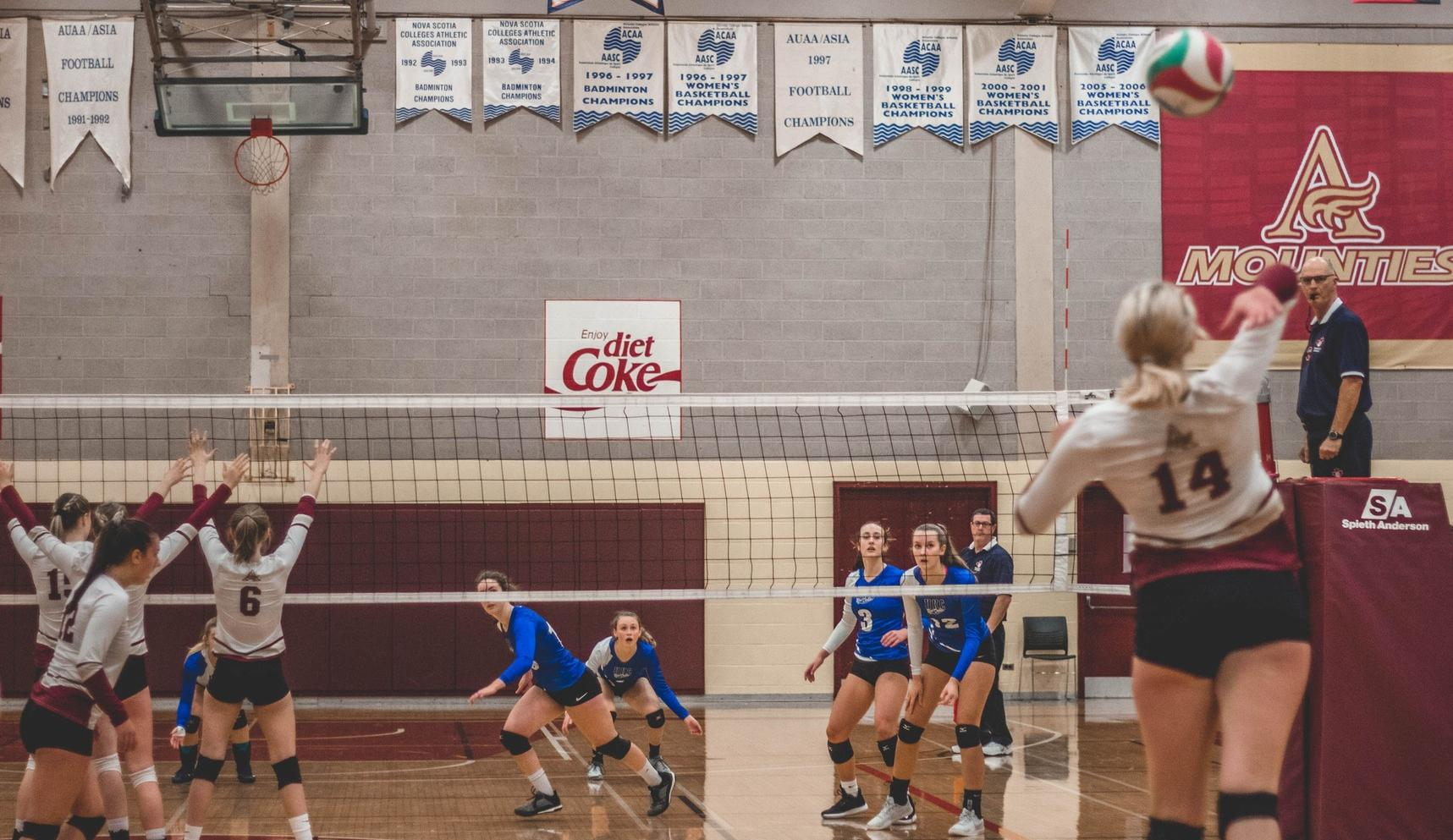 Mounties move to 5-0 with win over Blue Devils