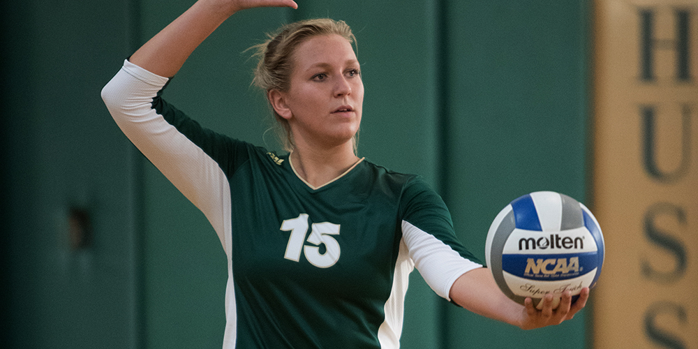 Women's Volleyball Drops Final Two NAC Contests to Maine Maritime and Colby-Sawyer