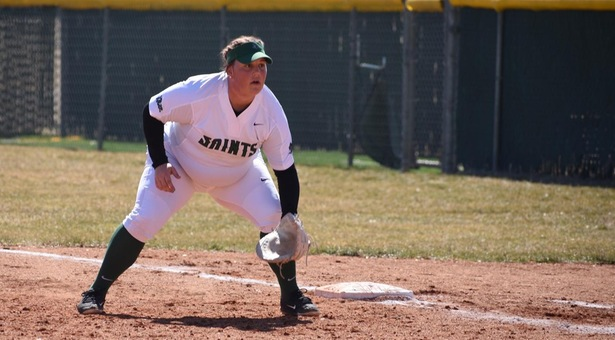 Lady Saints swept at Colby