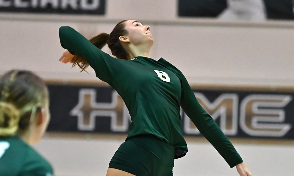 VOLLEYBALL OPENS SEASON WITH THREE-SET SWEEP OF CANISIUS