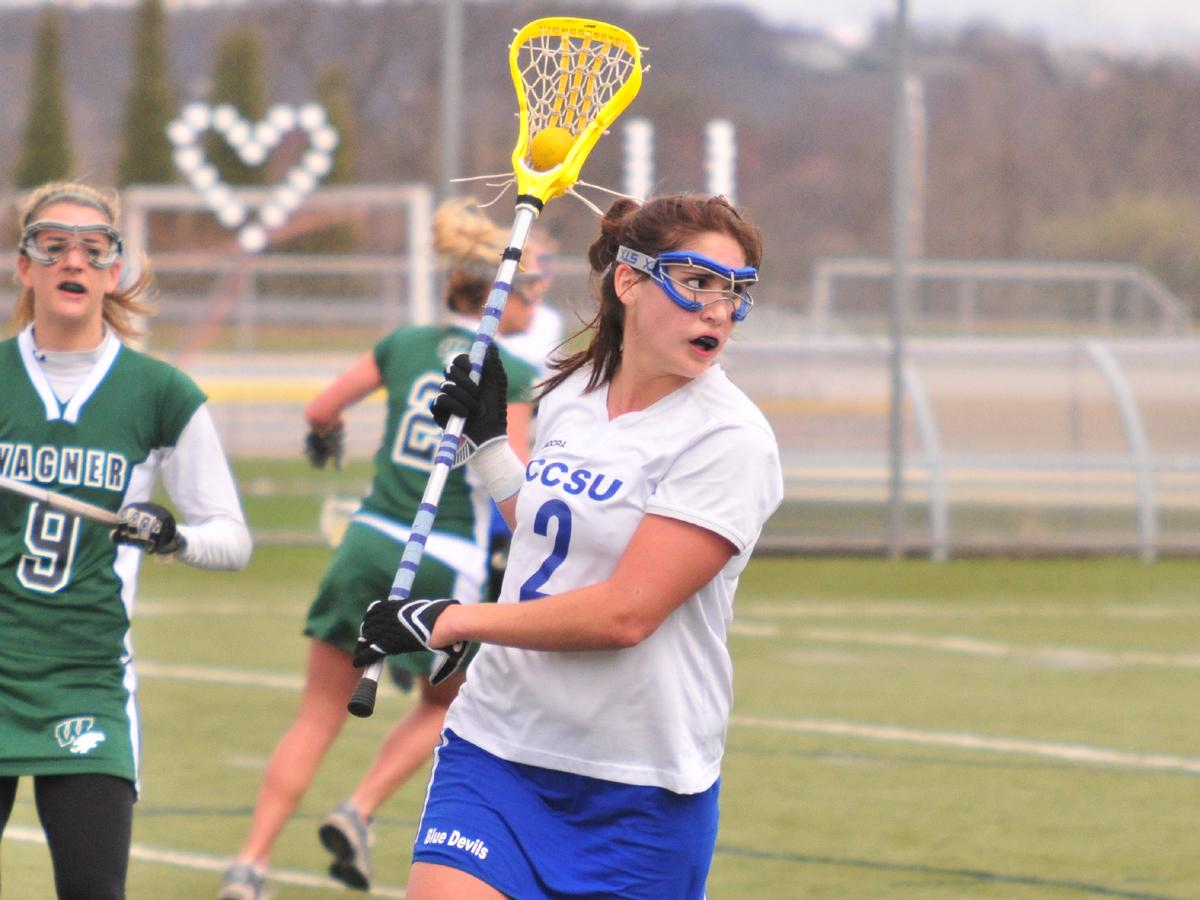 Smead Scores Three In Lax Opener, CCSU Falls to 'Nova 13-5