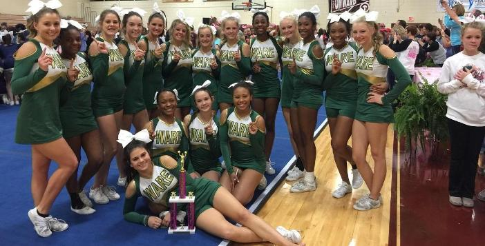 Ware County Competition Cheerleaders to Compete this Afternoon In State Championship