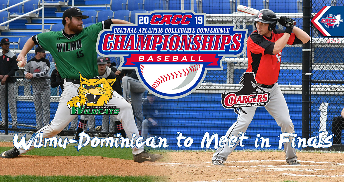 Wilmington & Dominican Victorious on Day 2 to Advance to Saturday's Final of 2019 CACC Baseball Championship