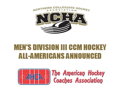 Nine From NCHA Named All-American; 5 of 6 on First Team