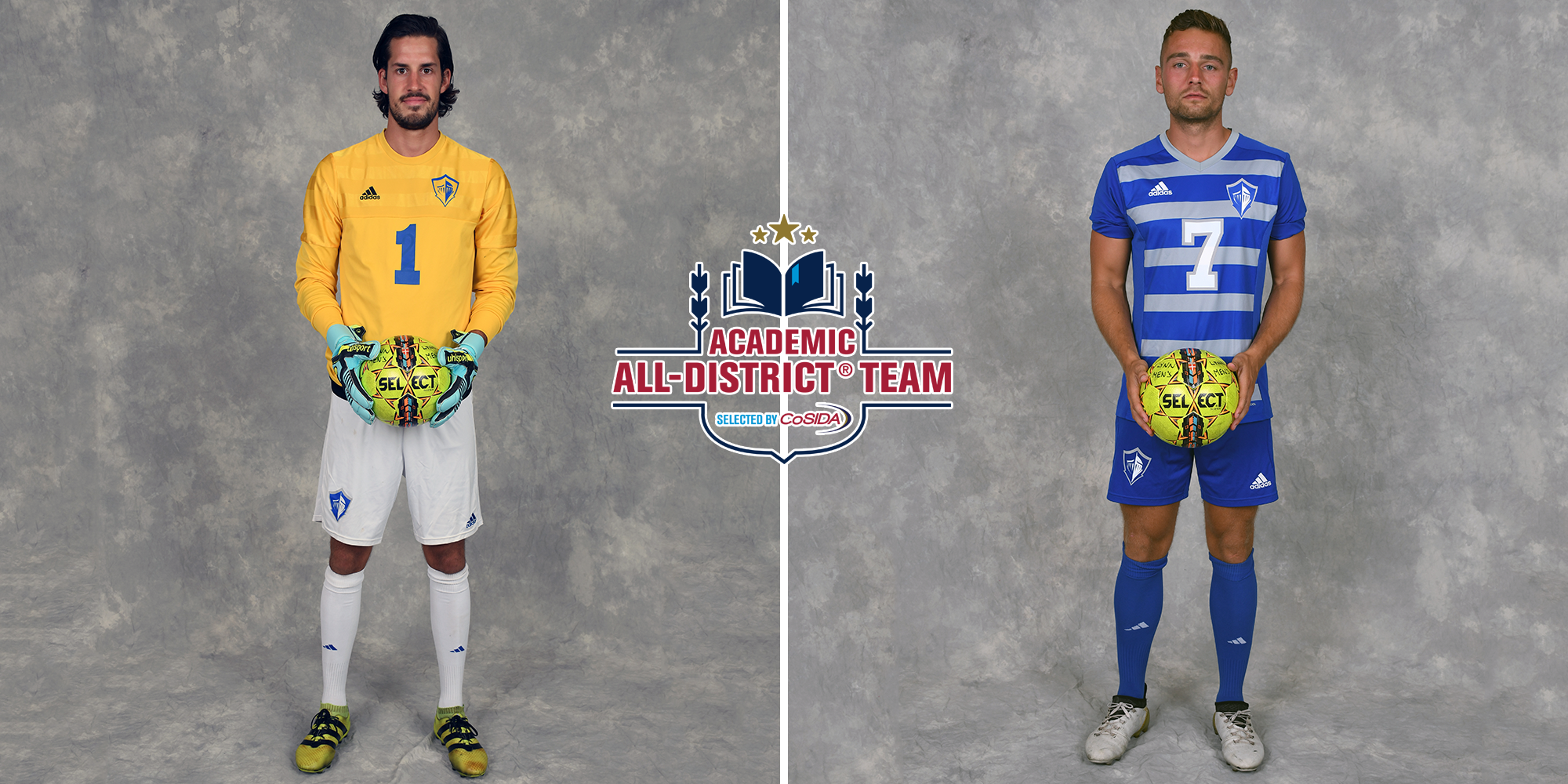 Roth and Webb Selected CoSIDA Academic All-District