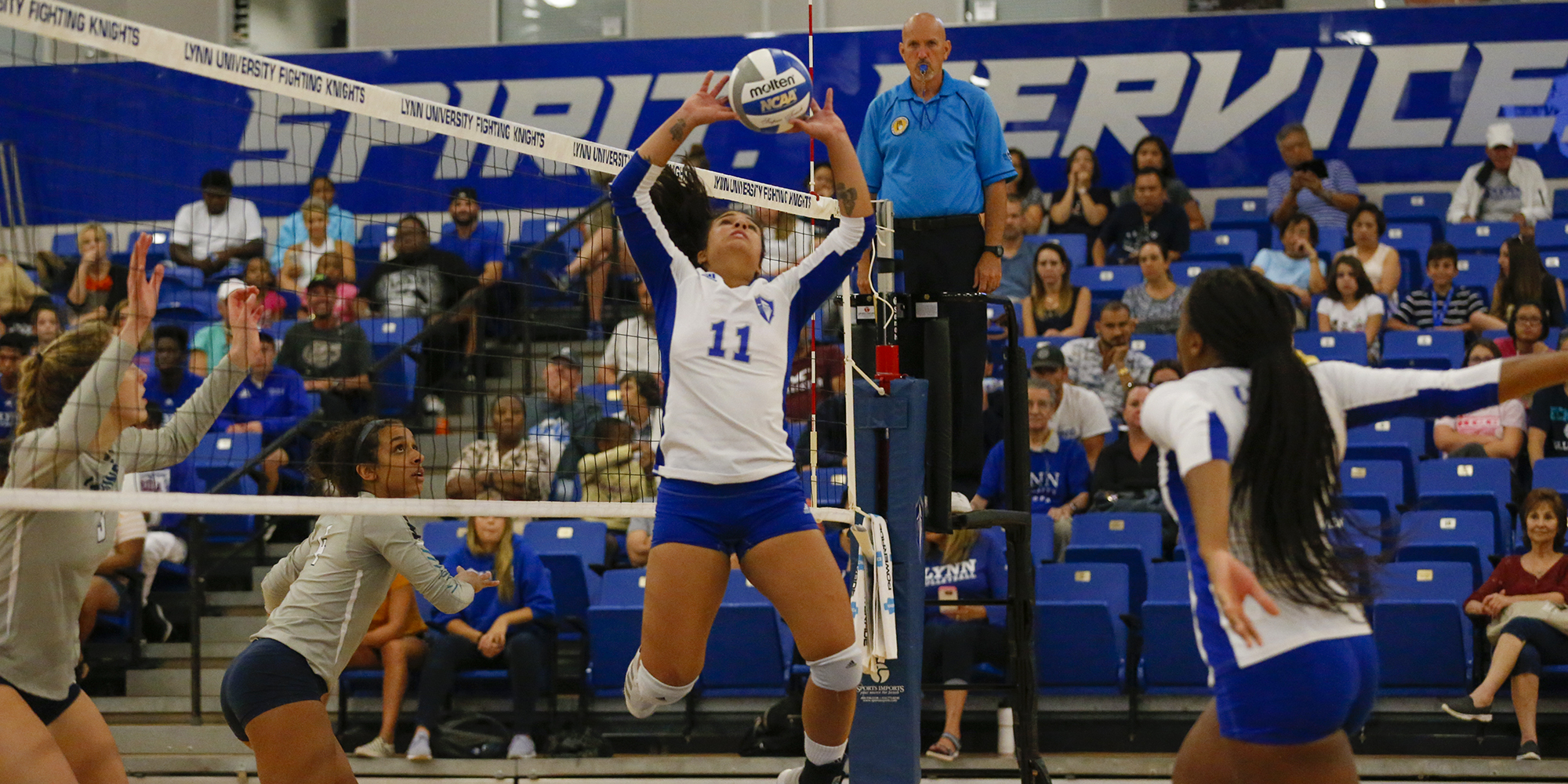Volleyball Suffers First SSC Loss