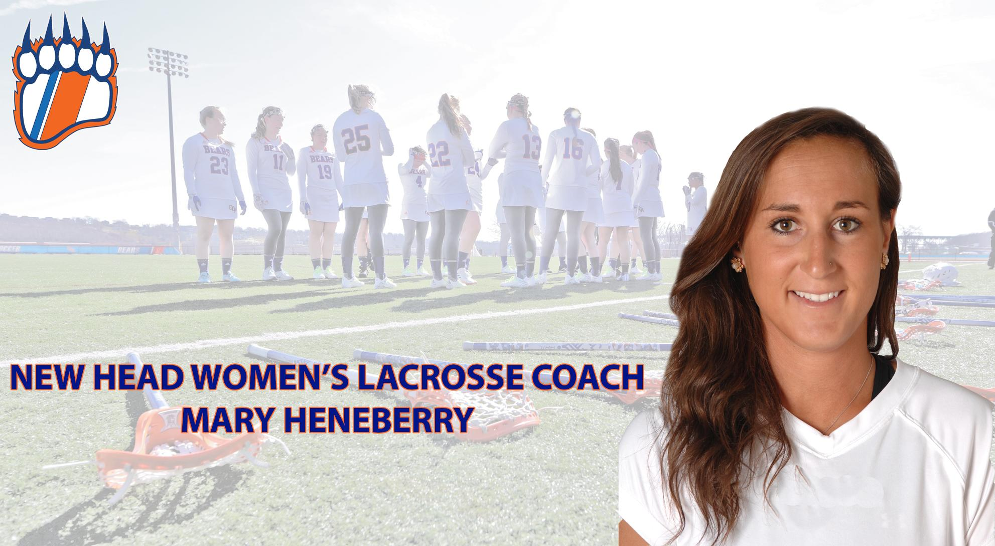 Heneberry Named Head Women's Lacrosse Coach