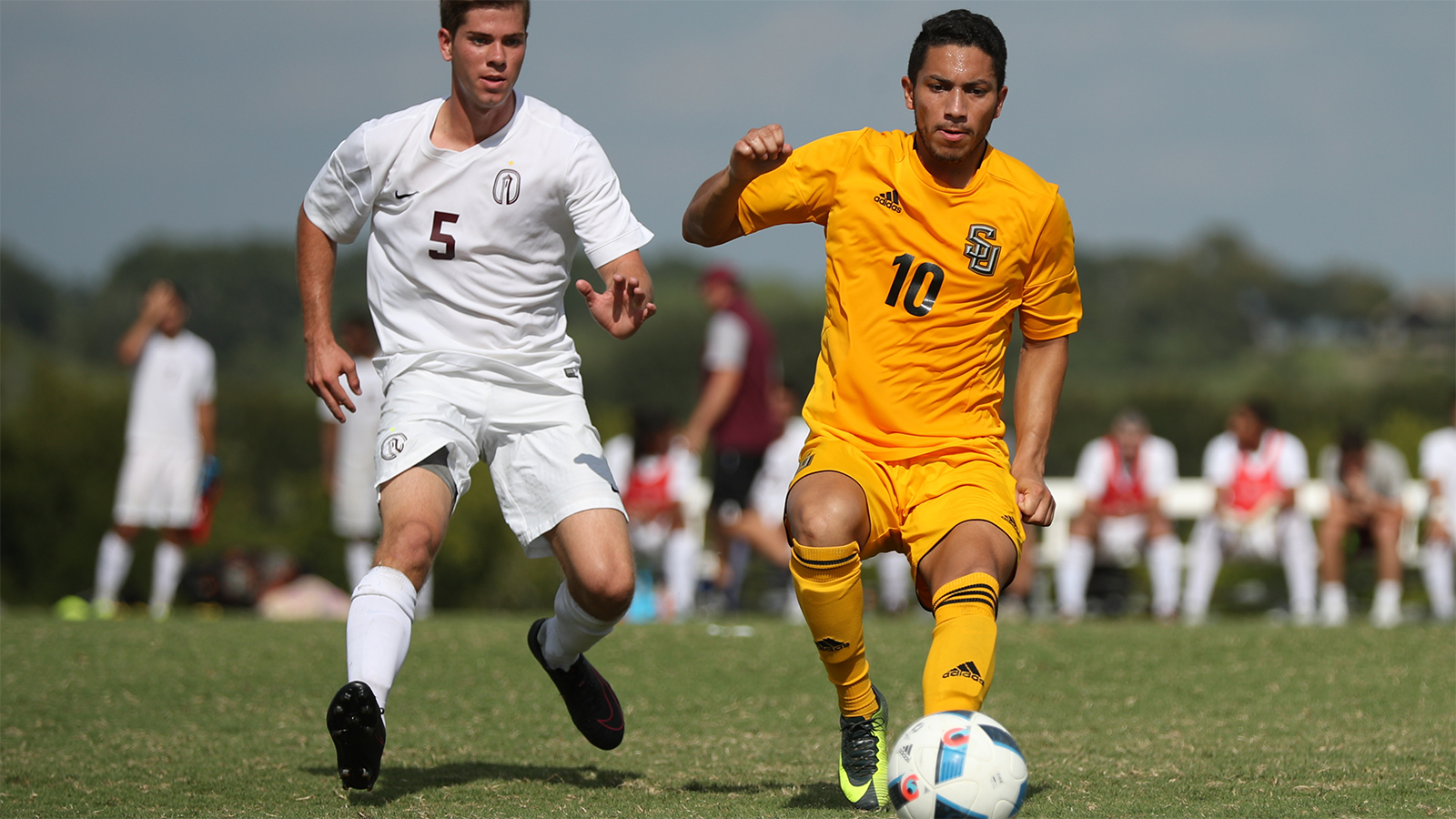 Lopez Punches Pirates Ticket to SCAC Tourney with Last Second Goal