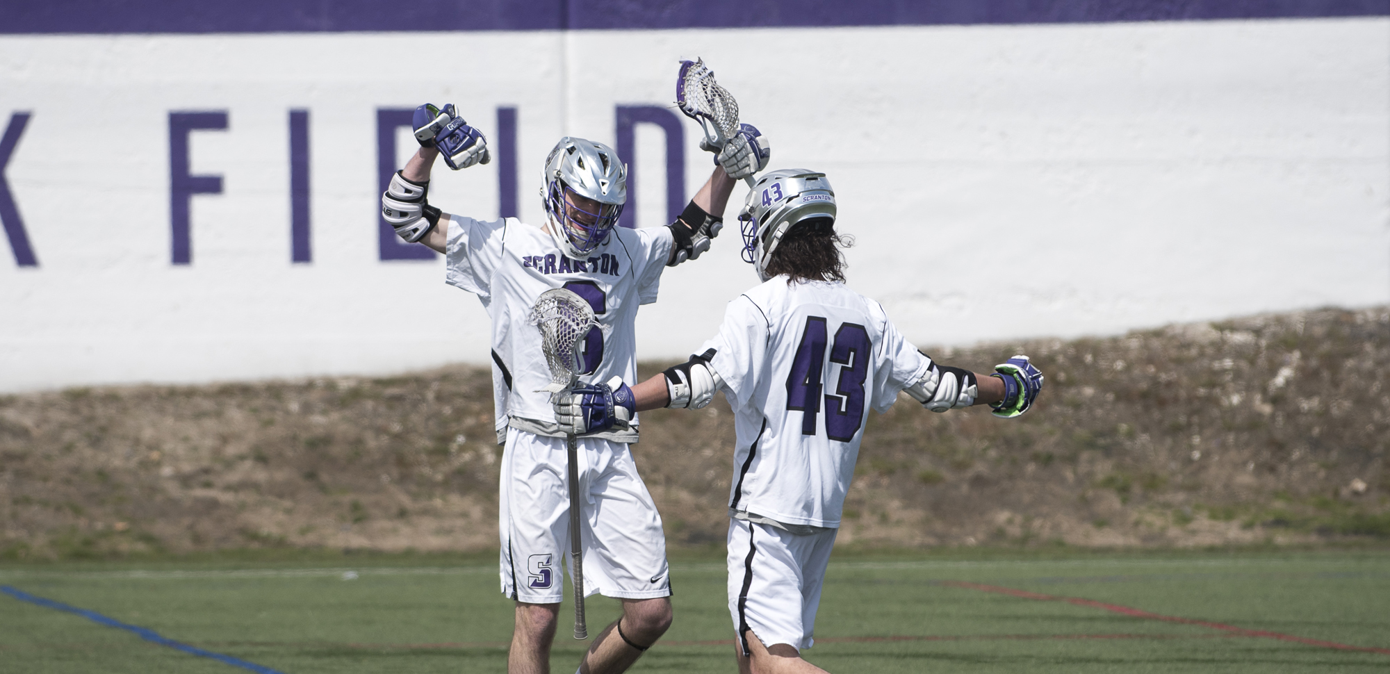 The University of Scranton men's lacrosse team was picked second in the 2019 Landmark Conference preseason coaches' poll.